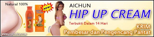 Aichun Hip Up Cream Original Pengencang Dan Pembesar Bokong Alami dan Ampuh 100% Original