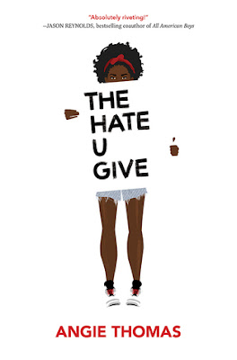 The Hate You Give, Angie Thomas, Waiting on Wednesday, InToriLex