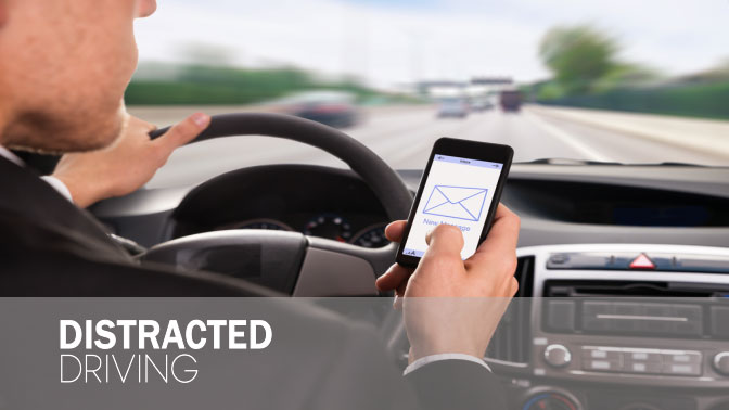 Distracted Driving, Your Mobile Phone Can Harm You!