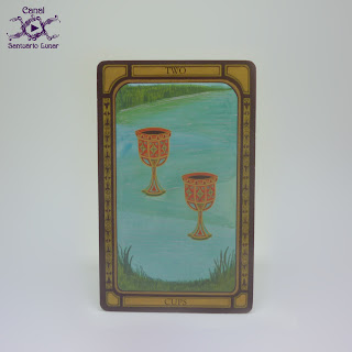 The Golden Tarot (CICO Books) - 2 of Cups
