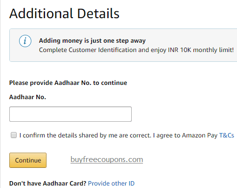 step to add money in amazon pay balance