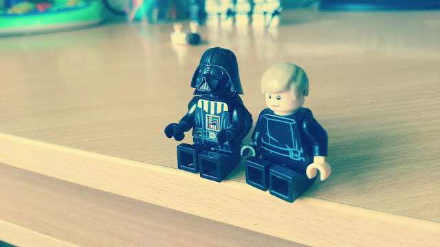 Luke and Darh Vader funny pictures, fan art Star Wars