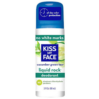 Kiss My Face Natural Deodorant Liquid Rock Roll-On