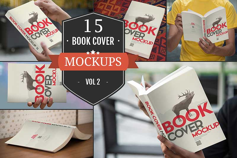 Book Cover Design Mockup : Free book mockups psd for cover designs tinydesignr