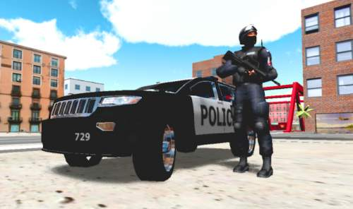 Police Car Driver 3D Sainik Wala Game Free Download