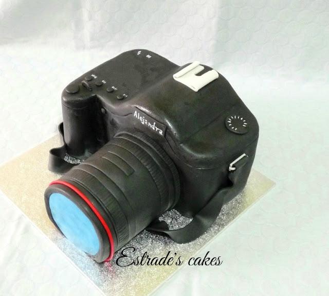 tarta cámara de fotos 2