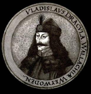 Une pièce de monnaie à l'effigie de Vlad Dracul
