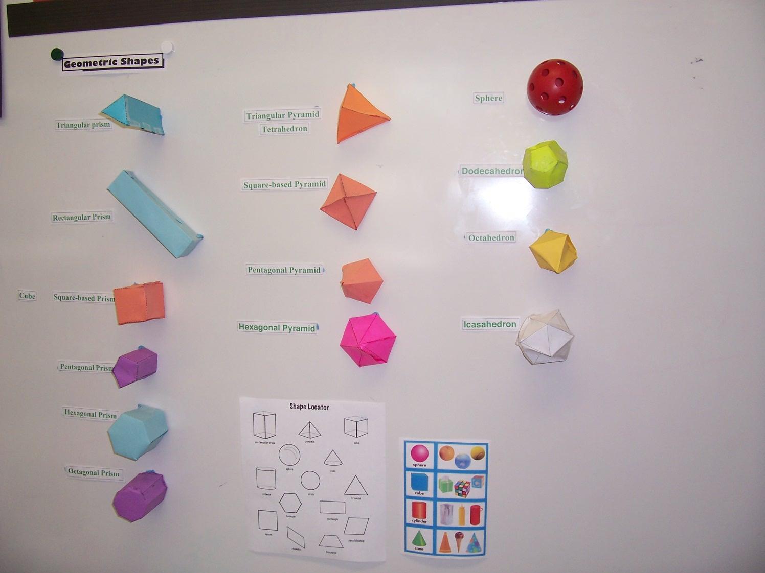 3d Shapes For Children 3d Puzzle Image
