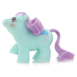 My Little Pony Peeks Year Six Newborn Twin Ponies II G1 Pony