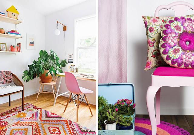 Textiles con color