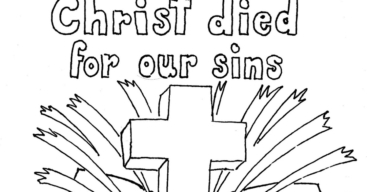 coloring pages for kids by mr  adron  1 corinthians 15 3