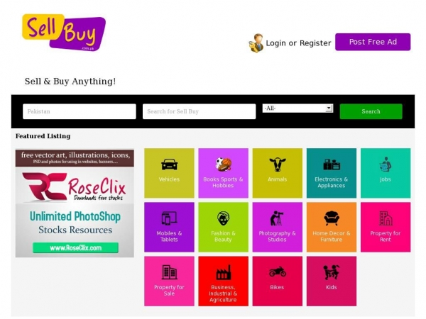 Sellbuy com pk Sell Buy Free classifieds ads in Pakistan   Buy and
