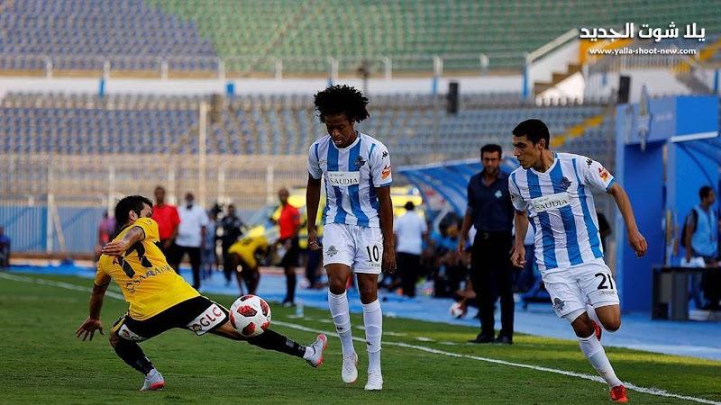 بيراميدز يتعادل مع نادي حرس الحدود في الجولة الاخير من الدوري المصري