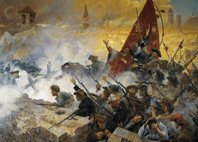 11 de setembre 1714 per Antoni Estruch