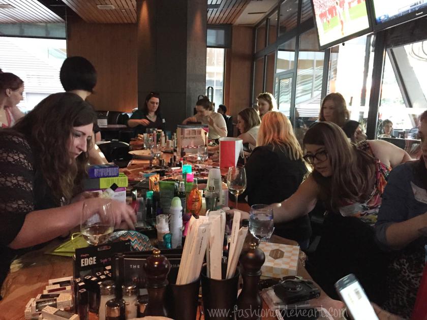cbb canadian beauty bloggers toronto dinner makeup bbloggers bbloggersca