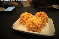 Sweet Corn Tempura with Sea Salt and Pepper at Yardbird Hong Kong