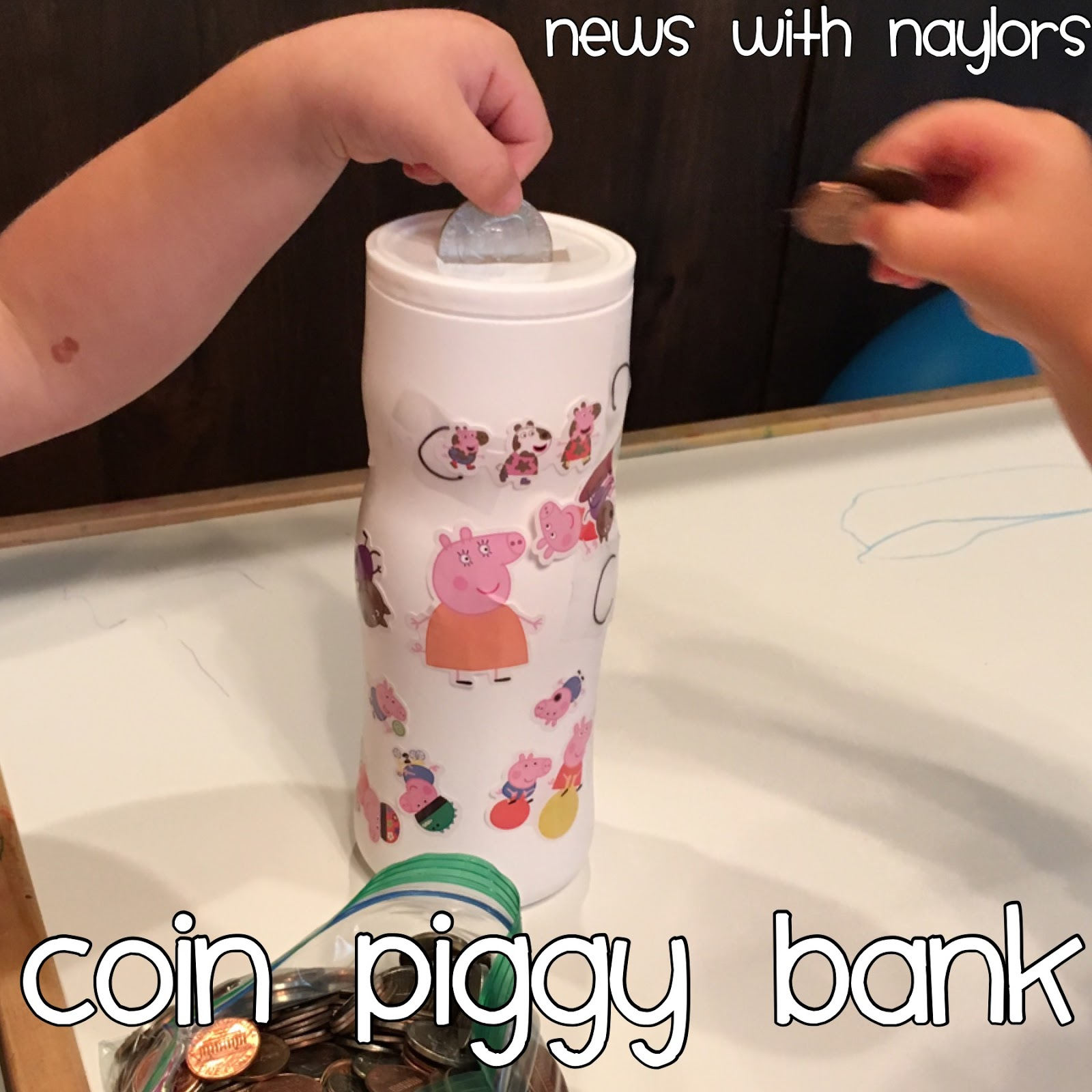 News With Naylors Letter C Coin Piggy Bank Coin