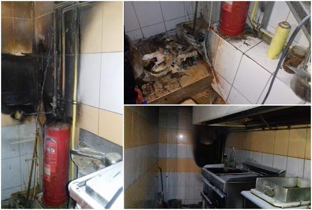 Φωτιά σε καφετέρια στην Ηγουμενίτσα (+ΦΩΤΟ)