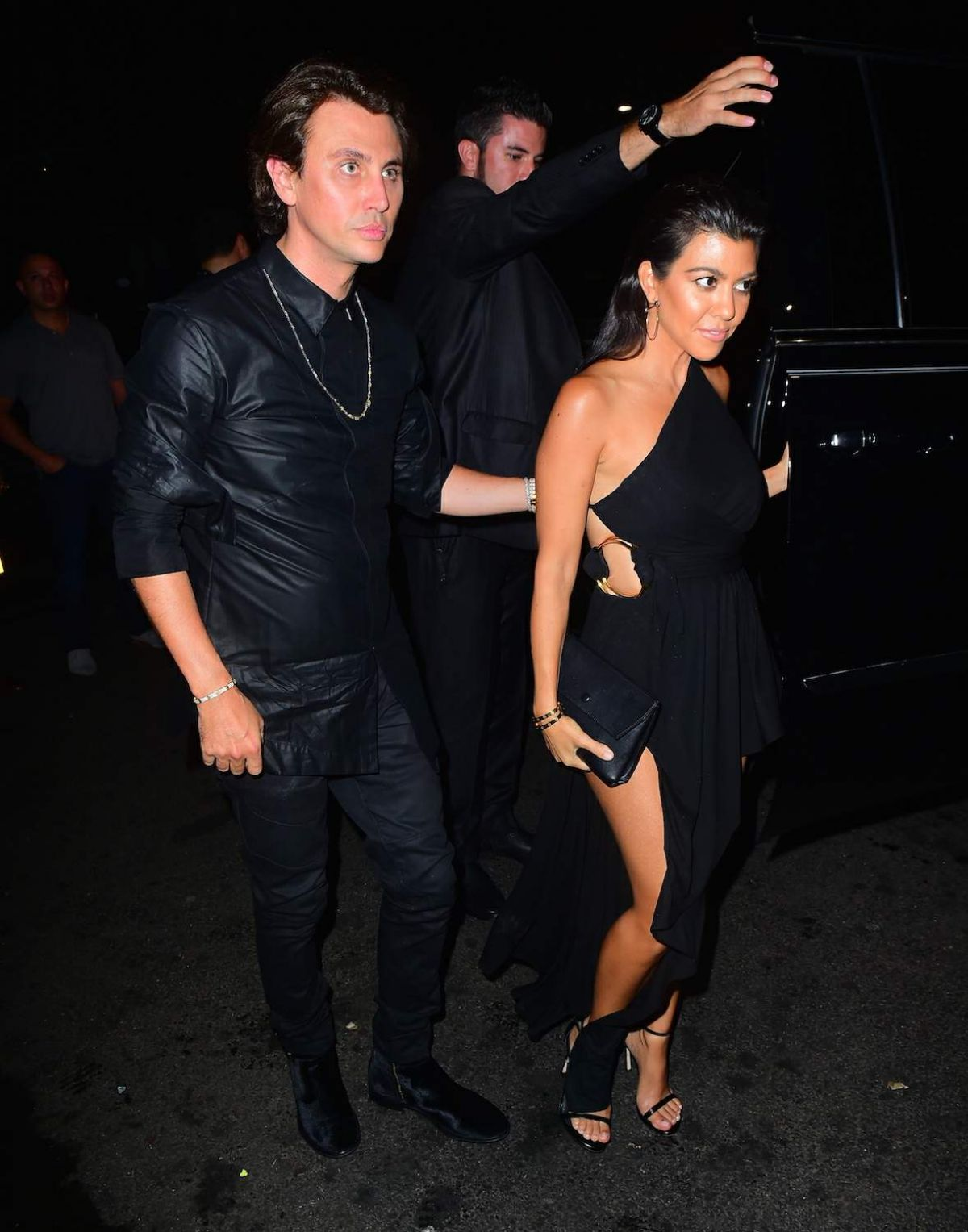 Kourtney Kardashian Night Out In New York City