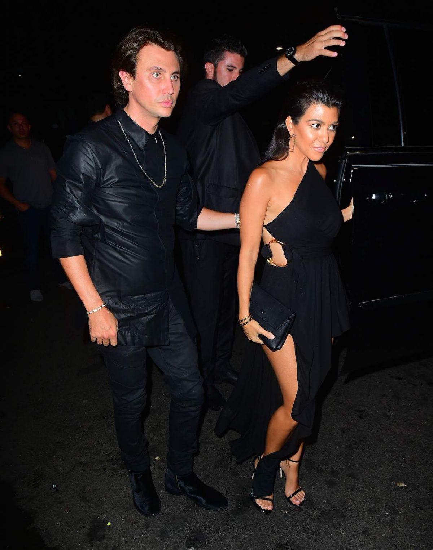 Kourtney Kardashian Night Out In New York City