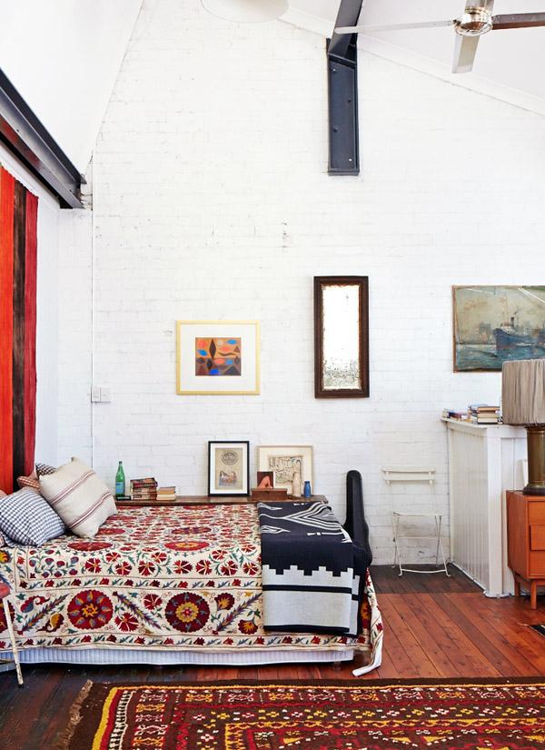 Hogares Singulares - De taller a casa - El dormitorio