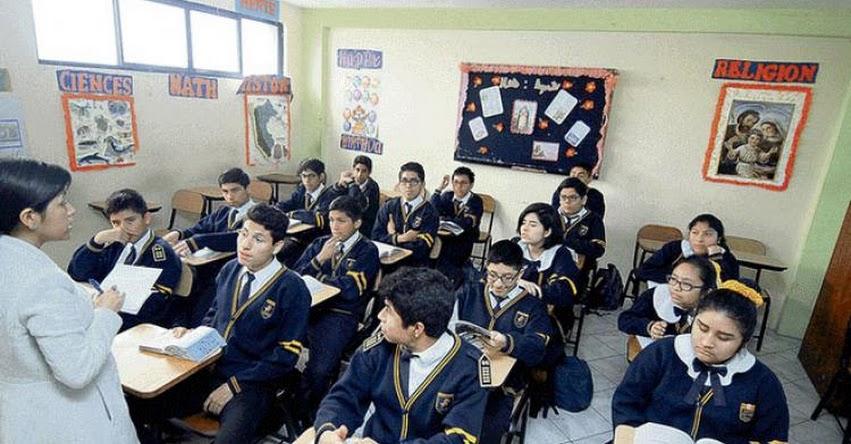 El 66% de colegios privados reportó un aumento de su alumnado en el último año, según informe del Grupo de Educación para el Futuro - GEF