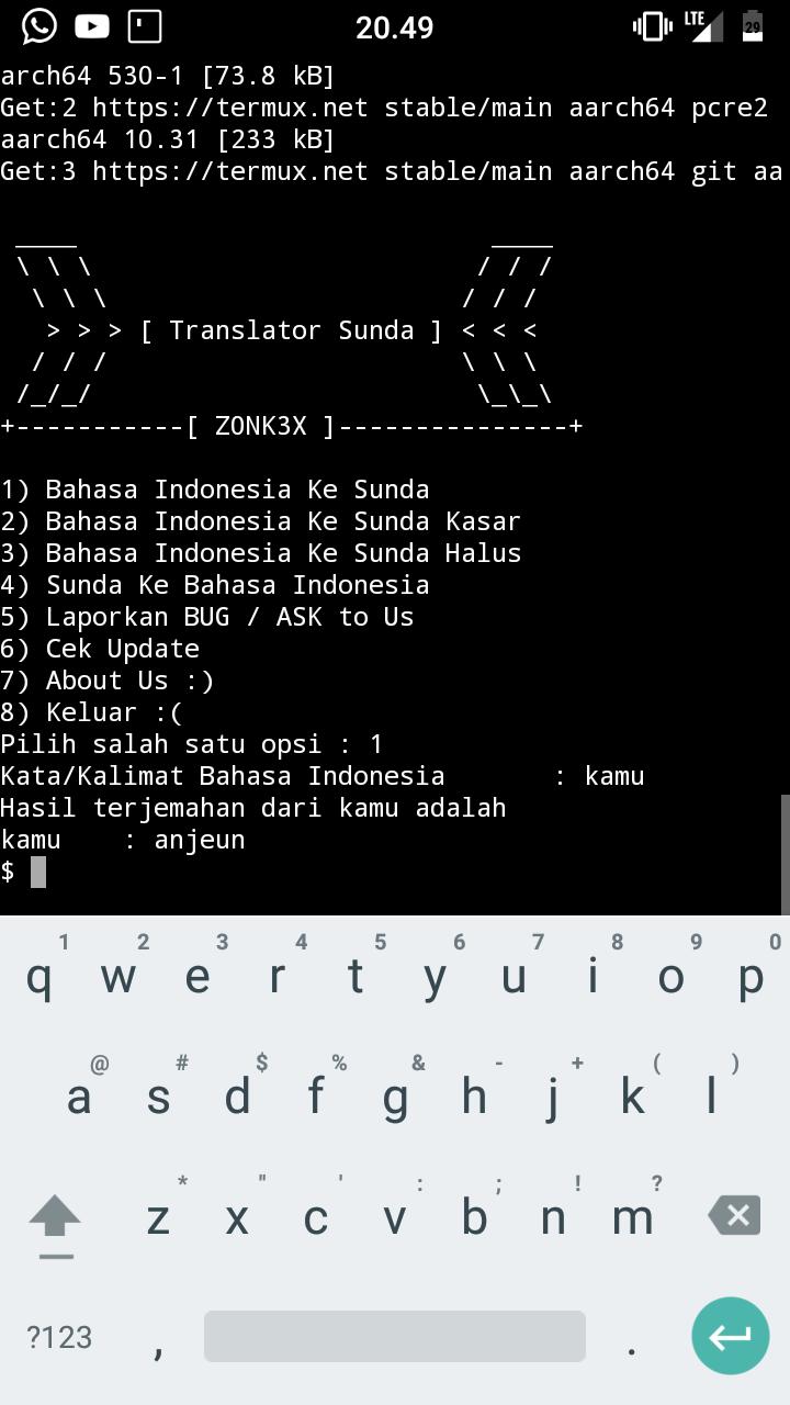 translate bahasa sunda