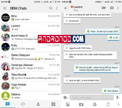 BBM Mod iOS Light v10 Based v3.0.0.18