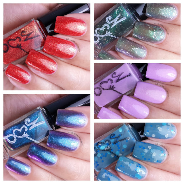 Nvr Enuff Polish - The Pagemaster Collection