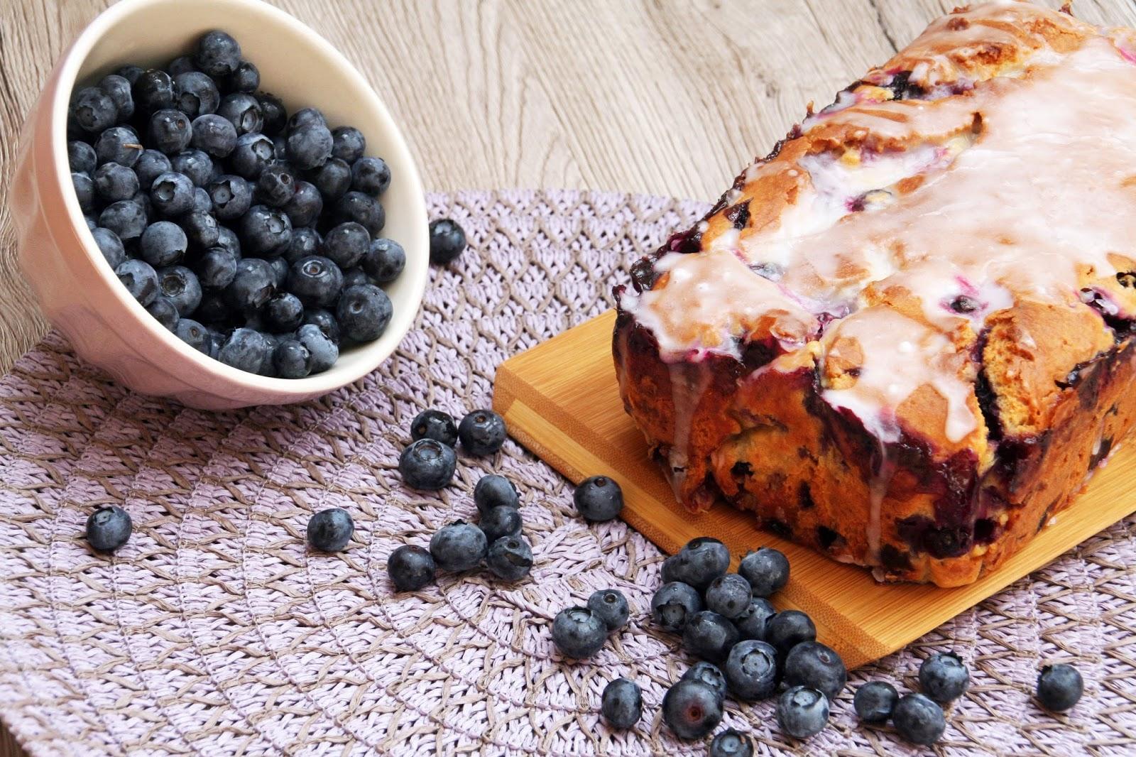 Blaubeer-Käsekuchen ohne Mehl gebacken › Belly