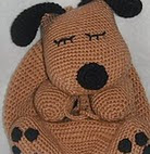 http://www.ravelry.com/patterns/library/free-pattern---puppy-nap-sack-a-crochet-pattern