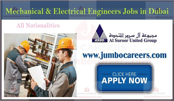 How to apply for Mechanical Engineer jobs in Dubai, Show the details of Dubai jobs,
