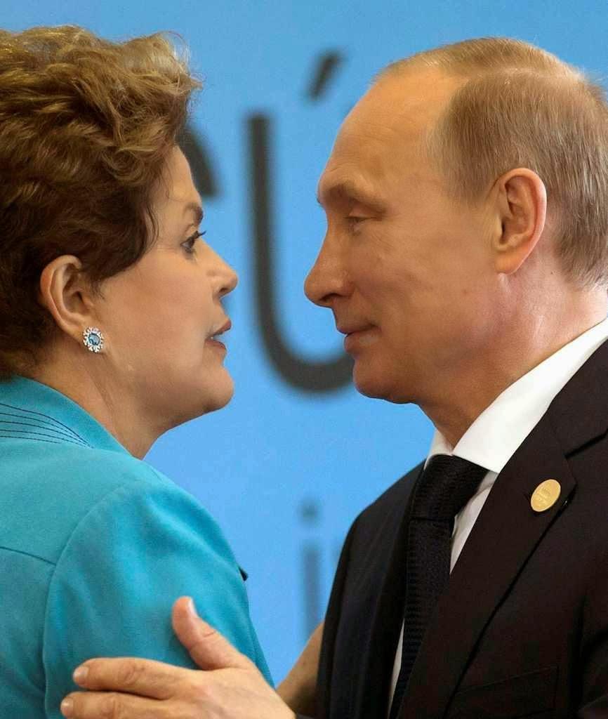 Com Dilma Rousseff. Wilson Dias - Agência Brasil