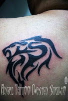 Tribal Lion Tattoo Designs