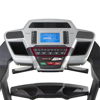 sole f65 treadmill console
