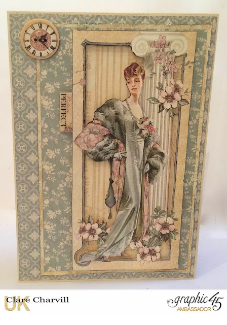 A Ladies Diary Card 1 Graphic 45 Clare Charvill