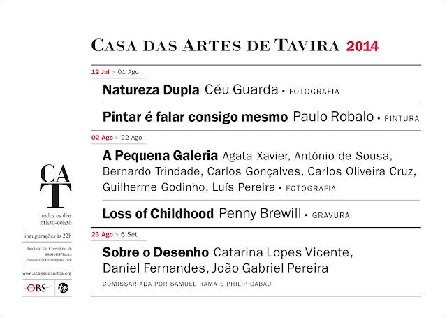 Casa das Artes Programa 2014 - cartaz