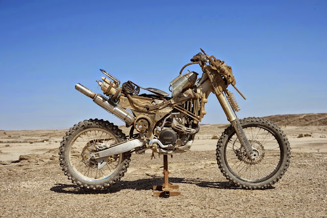 Motorcycle from Mad Max 2