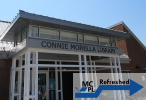 Exterior of Connie Morella (Bethesda) Library
