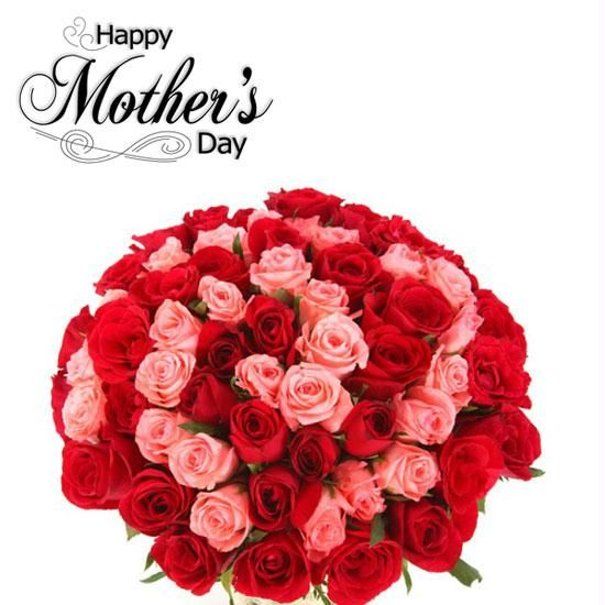 Happy Mothers Day 2018 Pink Red Roses For Mom Fresh