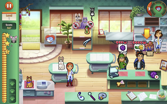 Dr. Cares Amy's Pet Clinic Mod Apk