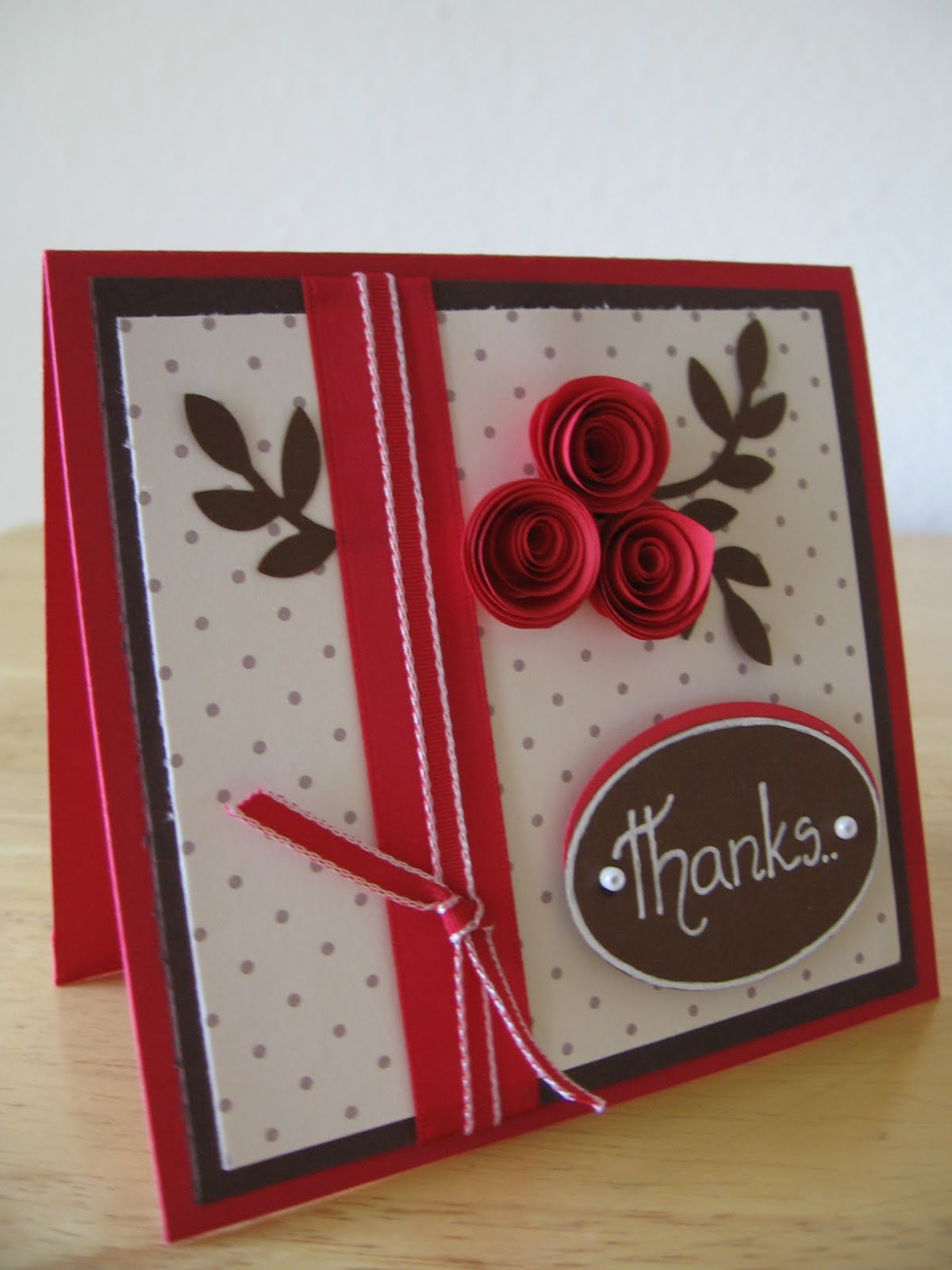 quilling ideas thank you cards