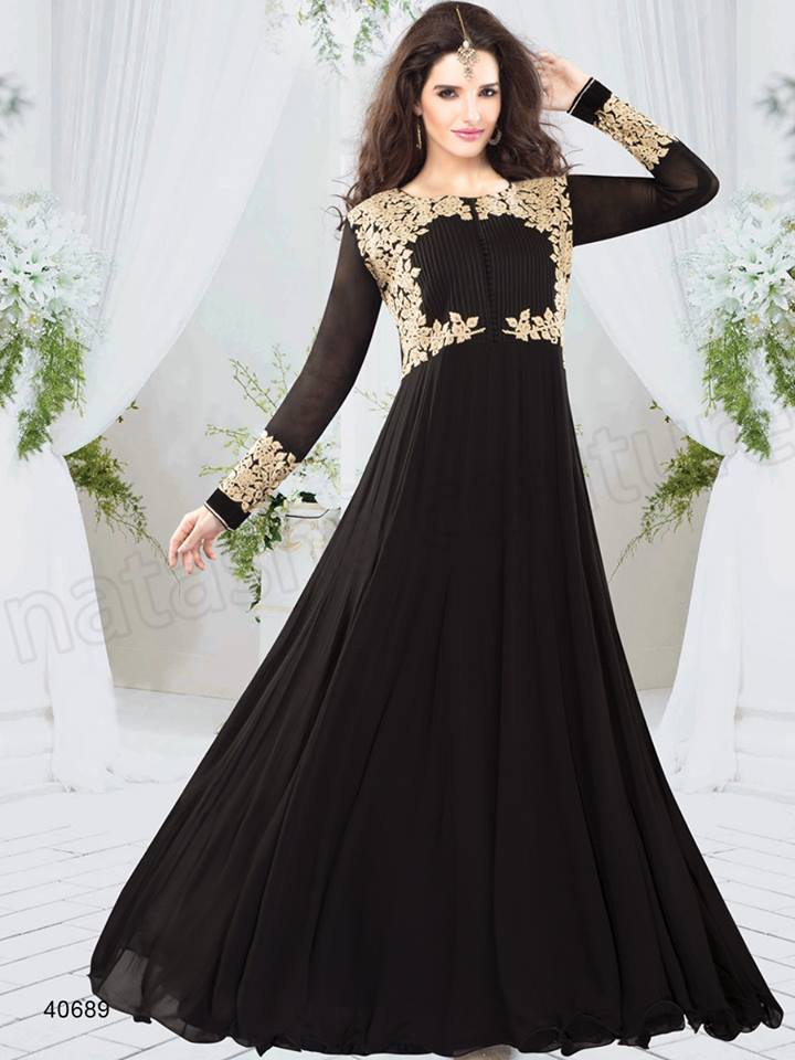 Latest Party Wear Indian Dresses 2017 Styles for Girls - Romantic ...