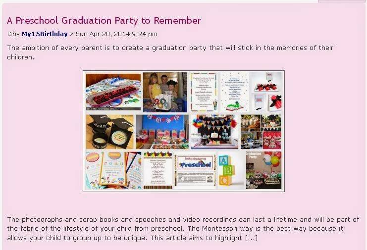 The Ambition Of Every Parent Is To Create A Graduation Party That Will Stick In Memories Their Children Photographs And Scrap Books Speeches