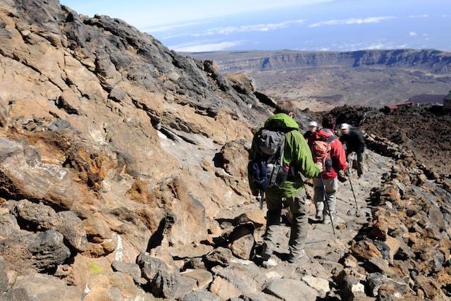 Rotas do Parque Nacional del Teide