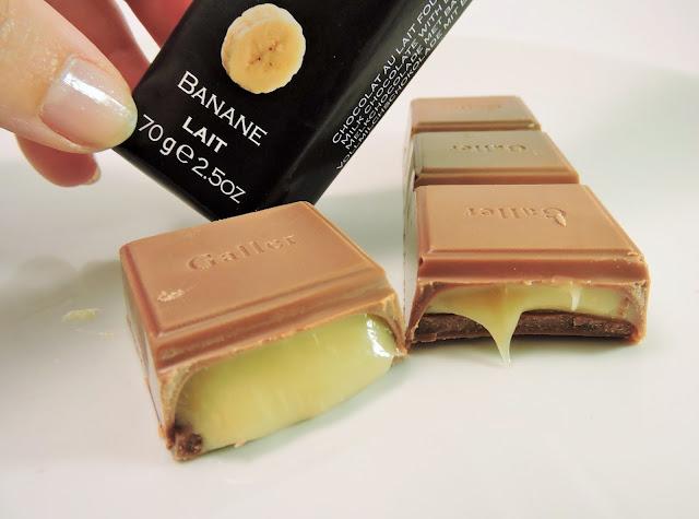 Baton chocolat Galler banane