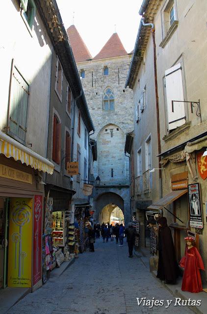 Rue Cros Mayrevielle de Carcassonne
