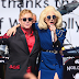 FOTOS HQ Y VIDEO: Lady Gaga canta en show de Elton John en West Hollywood - 27/02/16