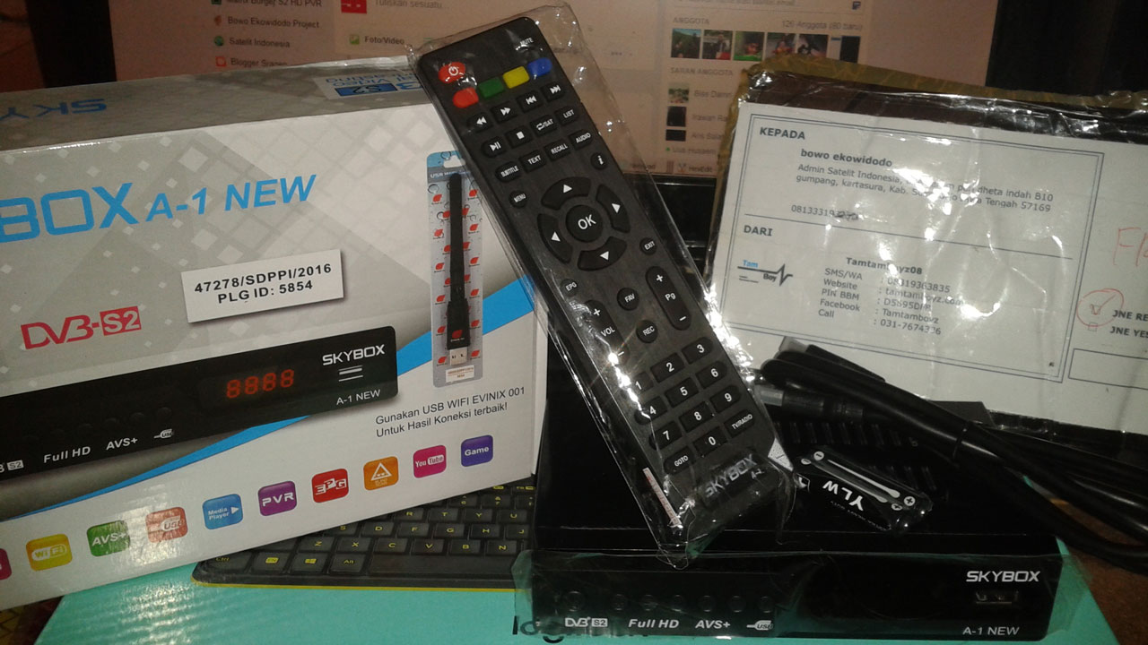 Harga dan Spesifikasi Skybox A1 New AVS+ Terbaru
