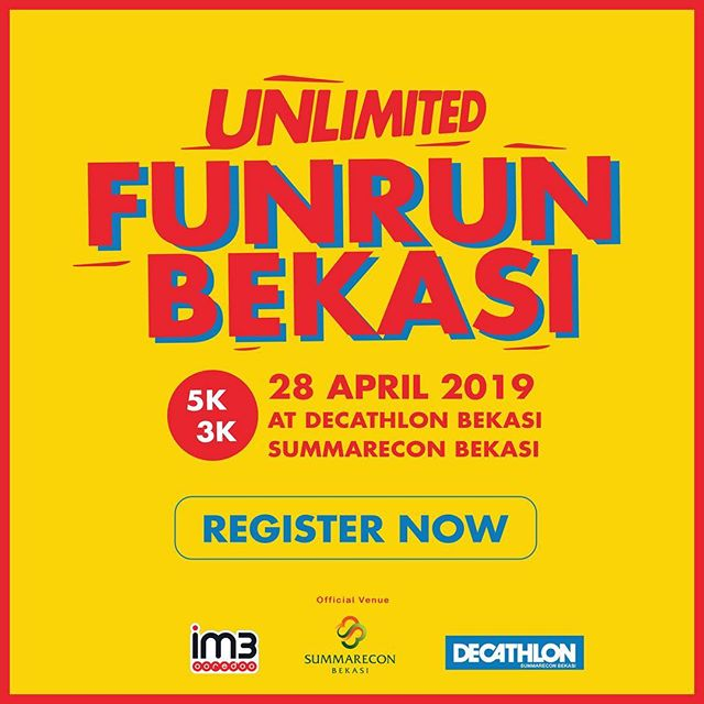 Unlimited Fun Run Bekasi • 2019
